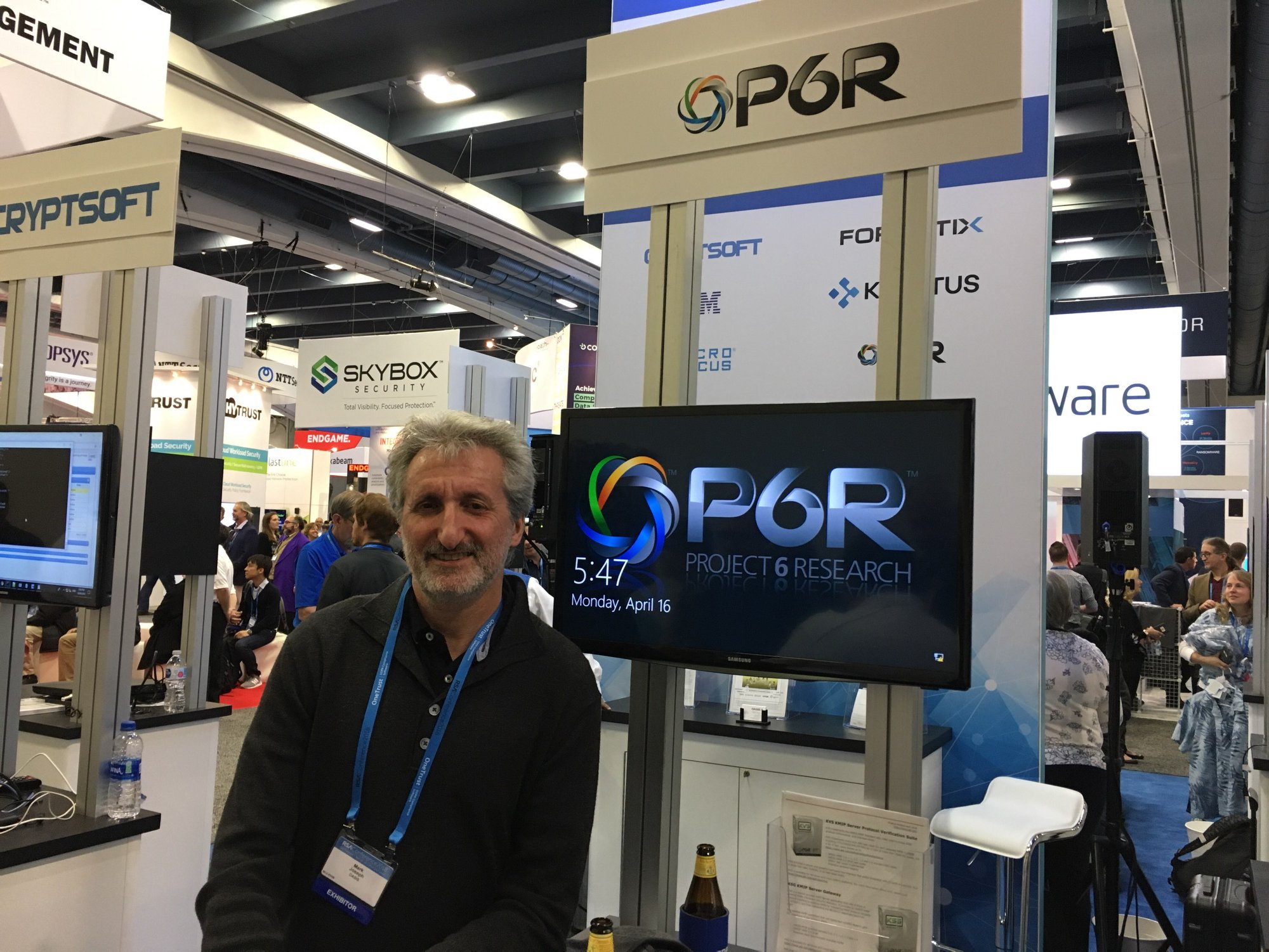 P6R at 2018 RSA Conference Expo